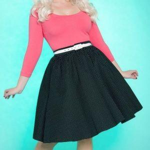 Pinup Couture pink/black Allison dress